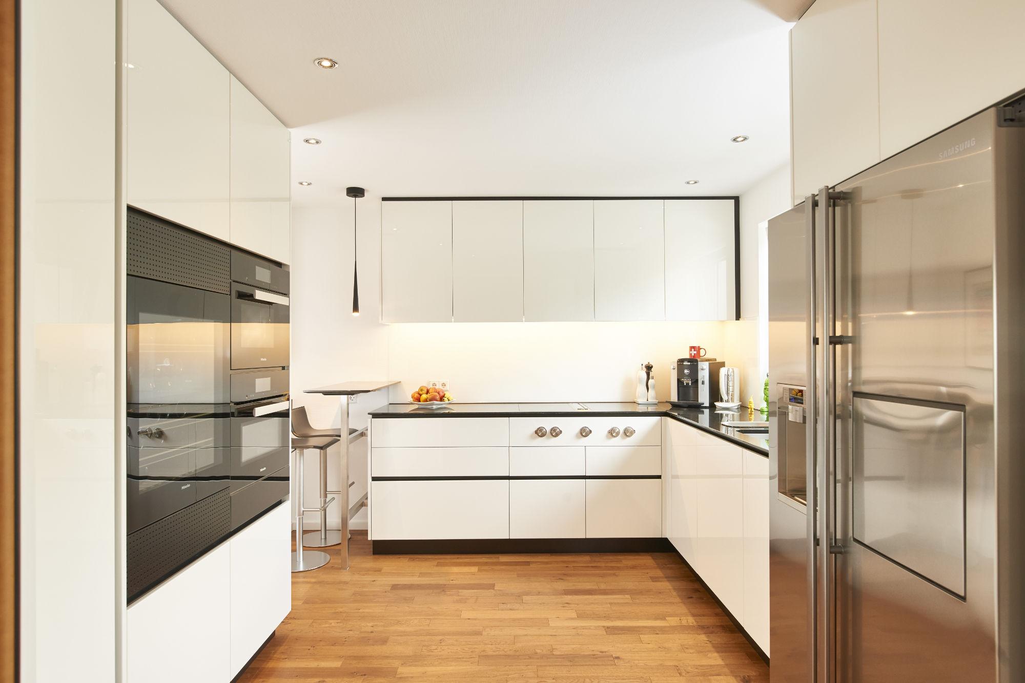 Küche Mit Weinkühlschrank
