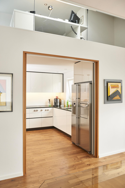 charmant k che mit weink hlschrank bilder die. Black Bedroom Furniture Sets. Home Design Ideas